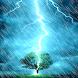 Rain thunder Live wallpaper