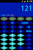 Screenshot of RDev Calculator