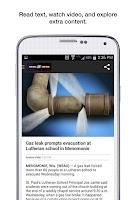 Screenshot of WEAU 13 News