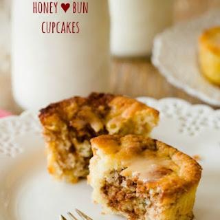Honey Bun Cupcakes