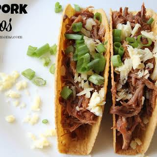 BBQ Pork Tacos.