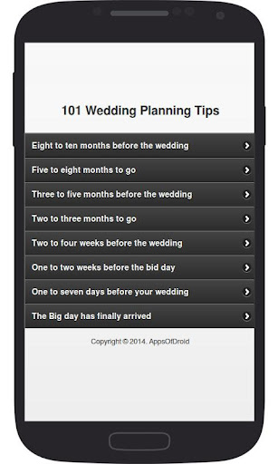 101 Wedding Planning Tips