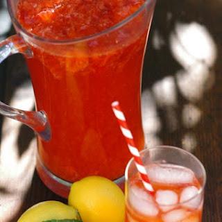 Real Strawberry Lemonade.