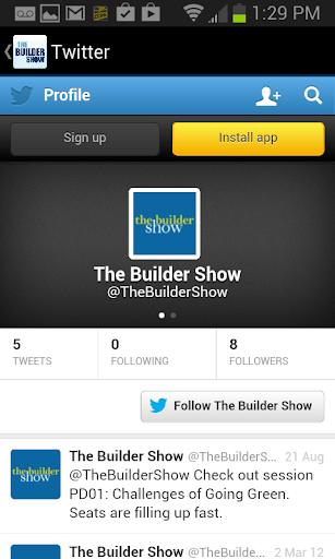 【免費商業App】The Builder Show 2015-APP點子