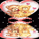 Teddy Bears in a heart LWP logo