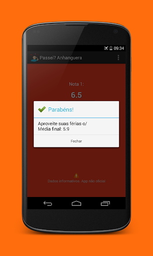 【免費教育App】Passei? Anhanguera-APP點子