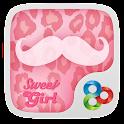 Sweet Girl GO Launcher Theme icon