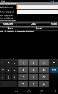 Handyman Calculator Pro (Key)- screenshot thumbnail