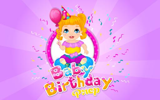 Baby Birthday Prep