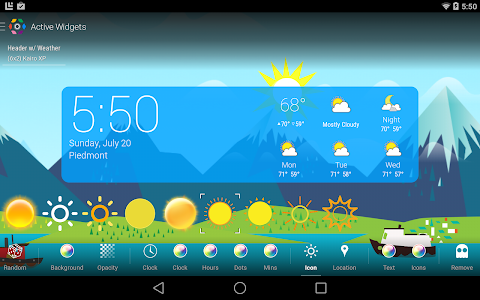 COLOR WEATHER ICONS FOR HDW screenshot 9