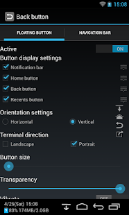 Back Button (No root)- gambar mini tangkapan layar