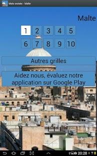 Mots Croisés  Malte - screenshot thumbnail