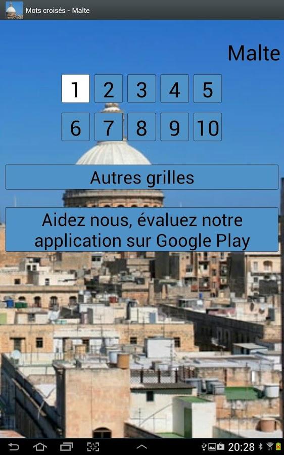 Mots Croisés  Malte - screenshot