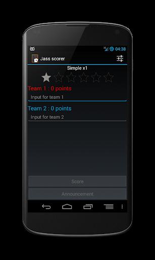 Jass Scorer