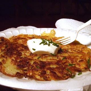 Gigantic Potato Pancakes.