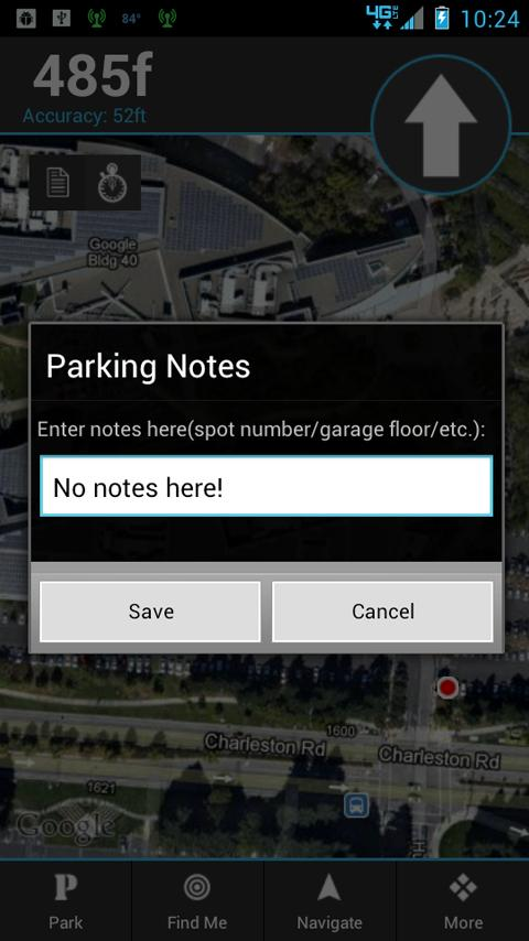 My Car Locator- screenshot