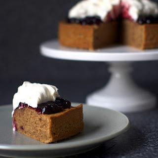 Walnut Jam Cake.