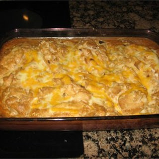 Rice and Chicken Casserole.