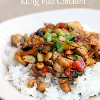Restaurant Style Kung Pao Chicken