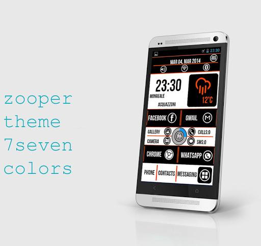 Zooper 7Seven theme pro