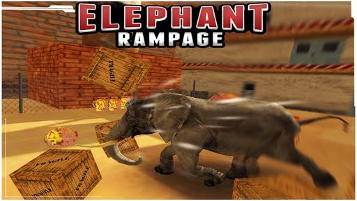 【免費動作App】Elephant Rampage (3D Game )-APP點子
