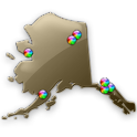 Alaska Fishing Maps - 20K Maps