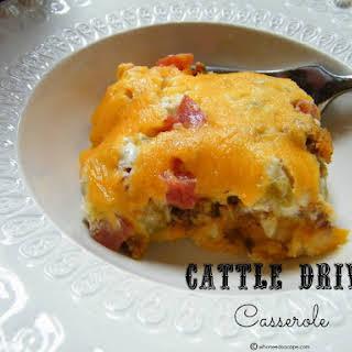 Cattle Drive Casserole.