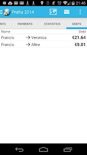 Travel Money - Group Expenses- screenshot thumbnail