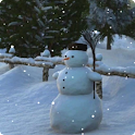Snowman Live Wallpaper HD icon