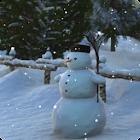 Snowman Live Wallpaper HD icon