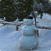 Snowman Live Wallpaper HD