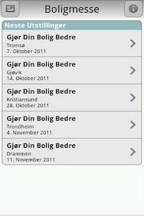 Boligmesse- screenshot thumbnail