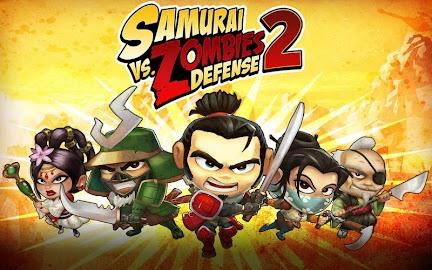SAMURAI vs ZOMBIES DEFENSE 2 Screenshot 1