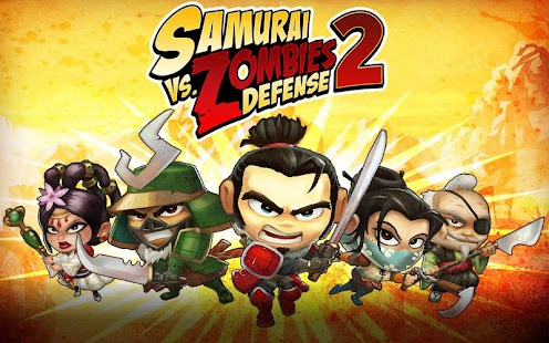 SAMURAI vs ZOMBIES DEFENSE 2 Screenshot 1