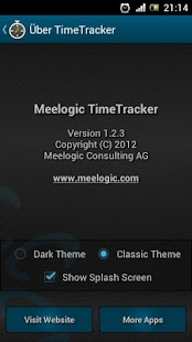 TimeTracker - Time Recording - screenshot thumbnail