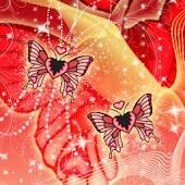 Butterfly Summer theme 480x800
