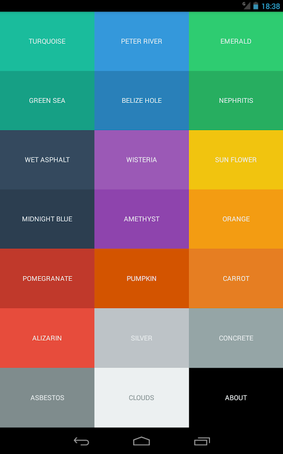 Color Code Android Apps On Google Play