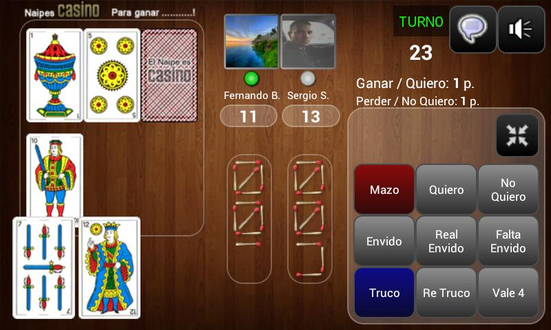 Truco Online Multiplayer - screenshot