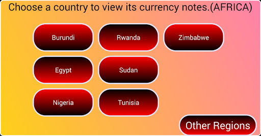 African Currency Notes