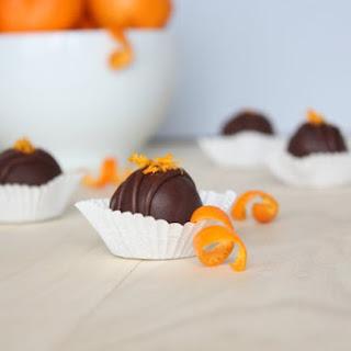 Mandarin Chocolate Truffles