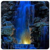 4D Waterfall Live Wallpaper