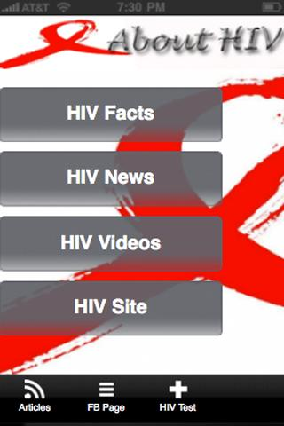 About HIV - screenshot