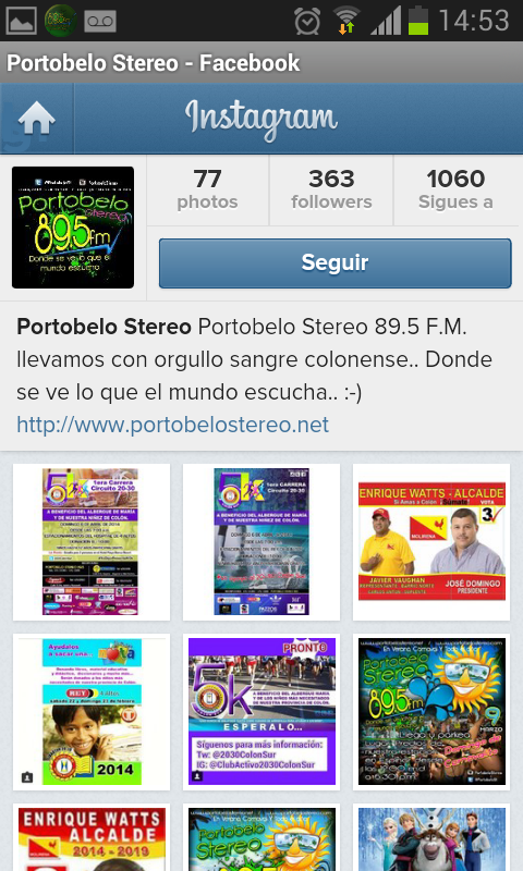 Portobelo Stereo 89.5 FM- screenshot