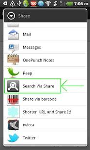 SearchViaShare- screenshot thumbnail