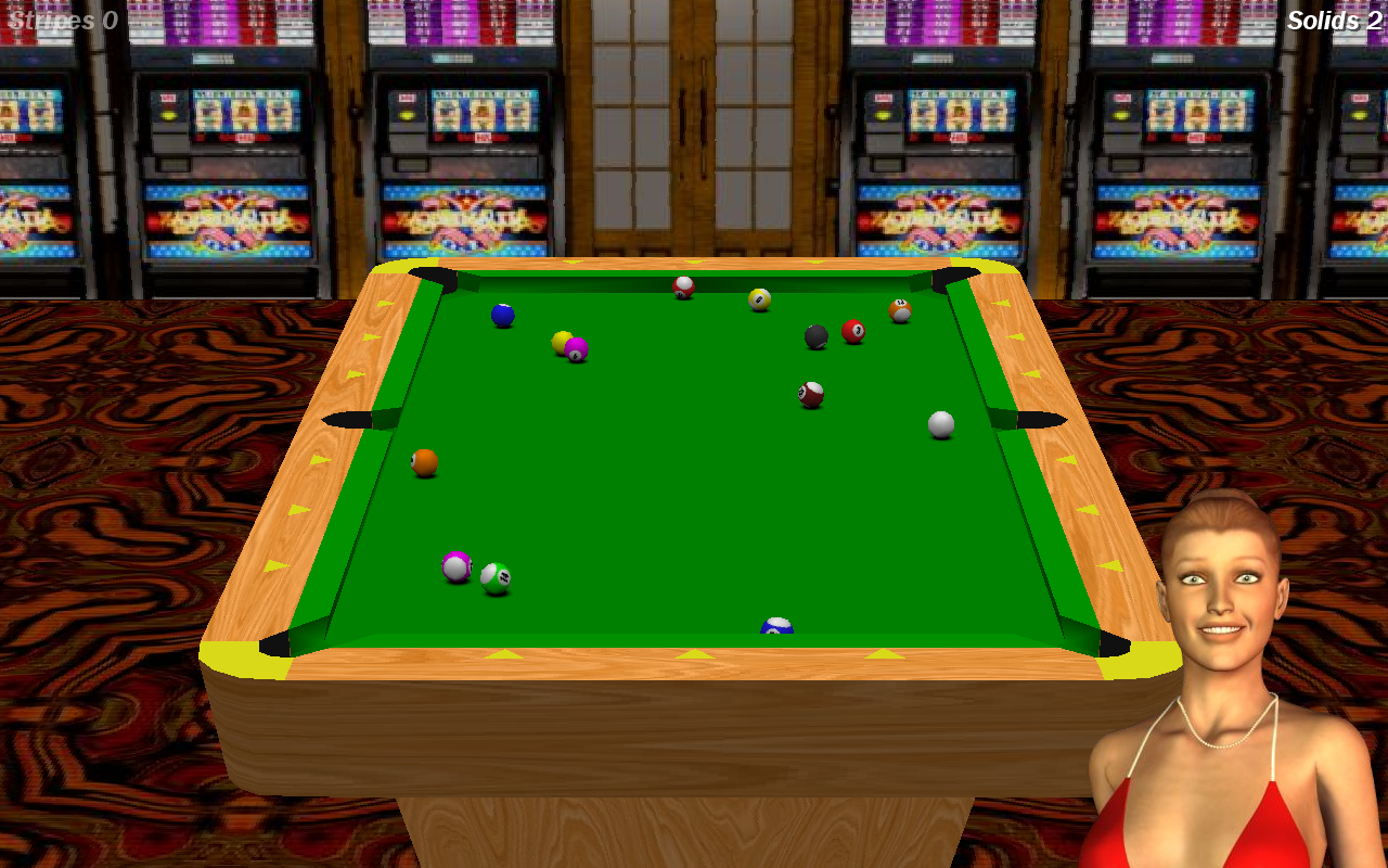 Vegas Pool Sharks- screenshot