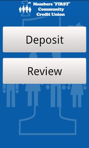 Members First Deposit