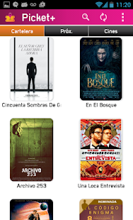 Picket - Cartelera de Cines: miniatura de captura de pantalla