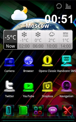 Next Launcher Colorstyle theme