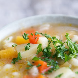 Irish Vegan Farmhouse Soup