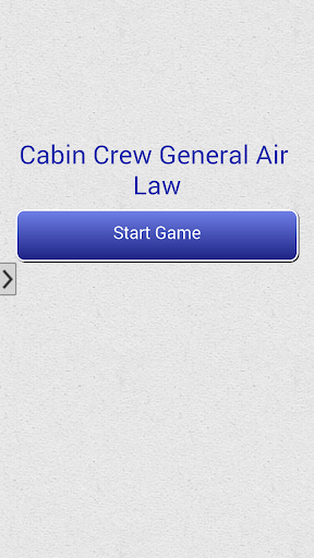 Cabin Crew General Air Law